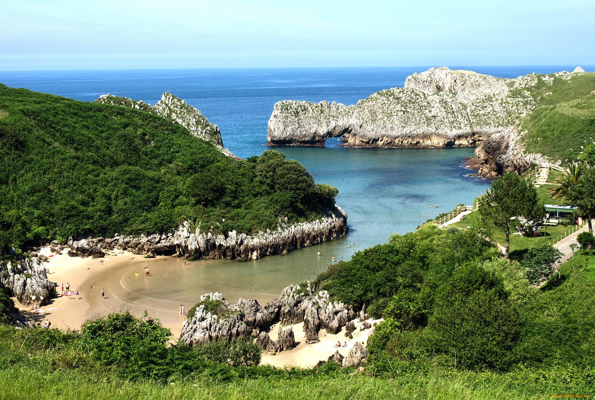 нас можете фото испанских морских берегов слепит его